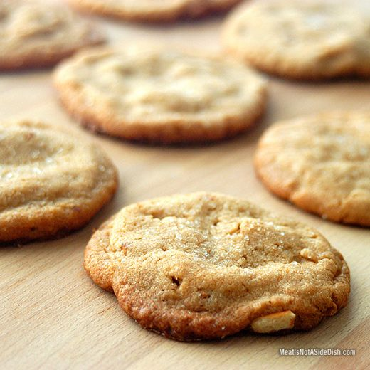 Salted Peanut Butter Pretzel Cookies – Gluten Free