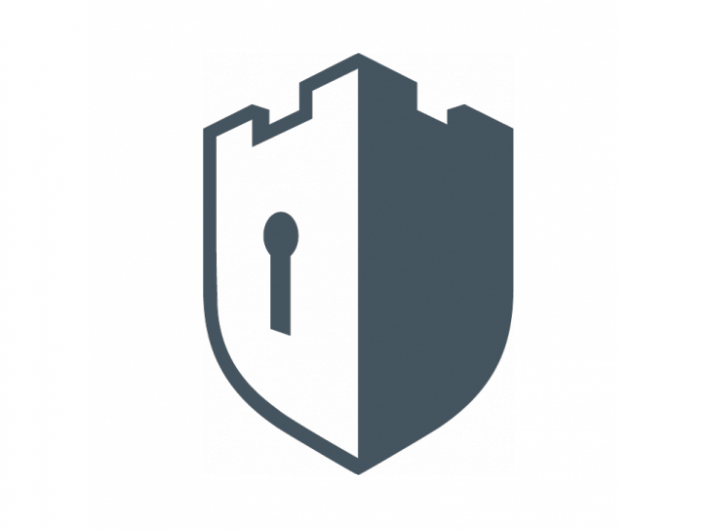 i like this logo as it links to the name fortress and also has rh pinterest com security logo maker security logos design