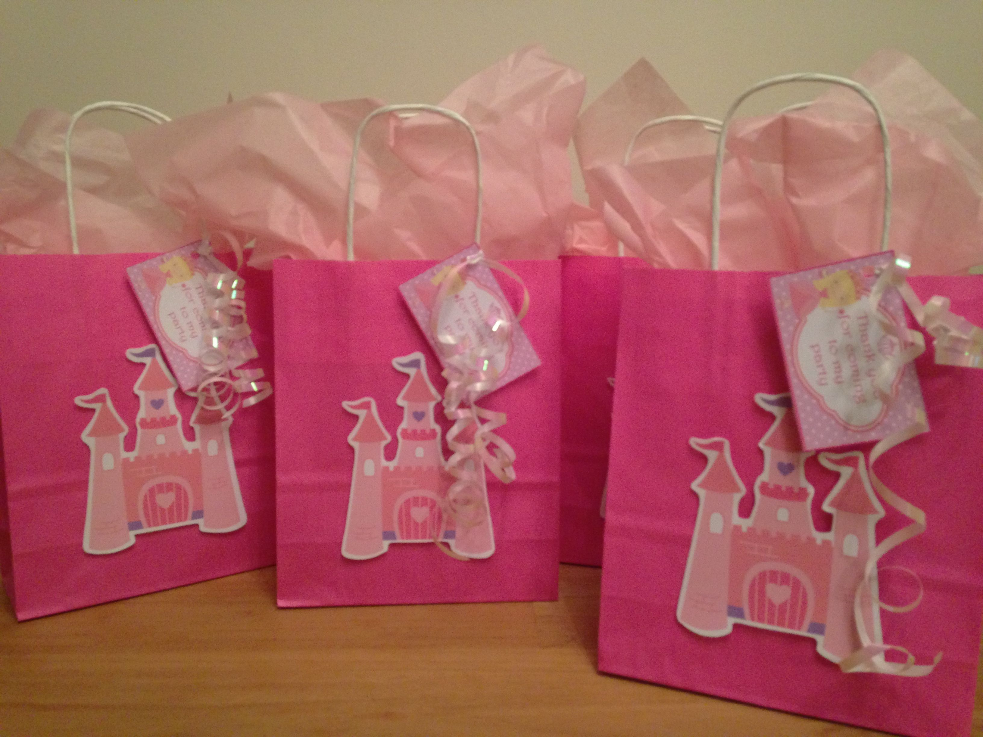 Princess Party Bags Party Bags For Kids Find Us On Facebook - Childrens birthday parties in milton keynes
