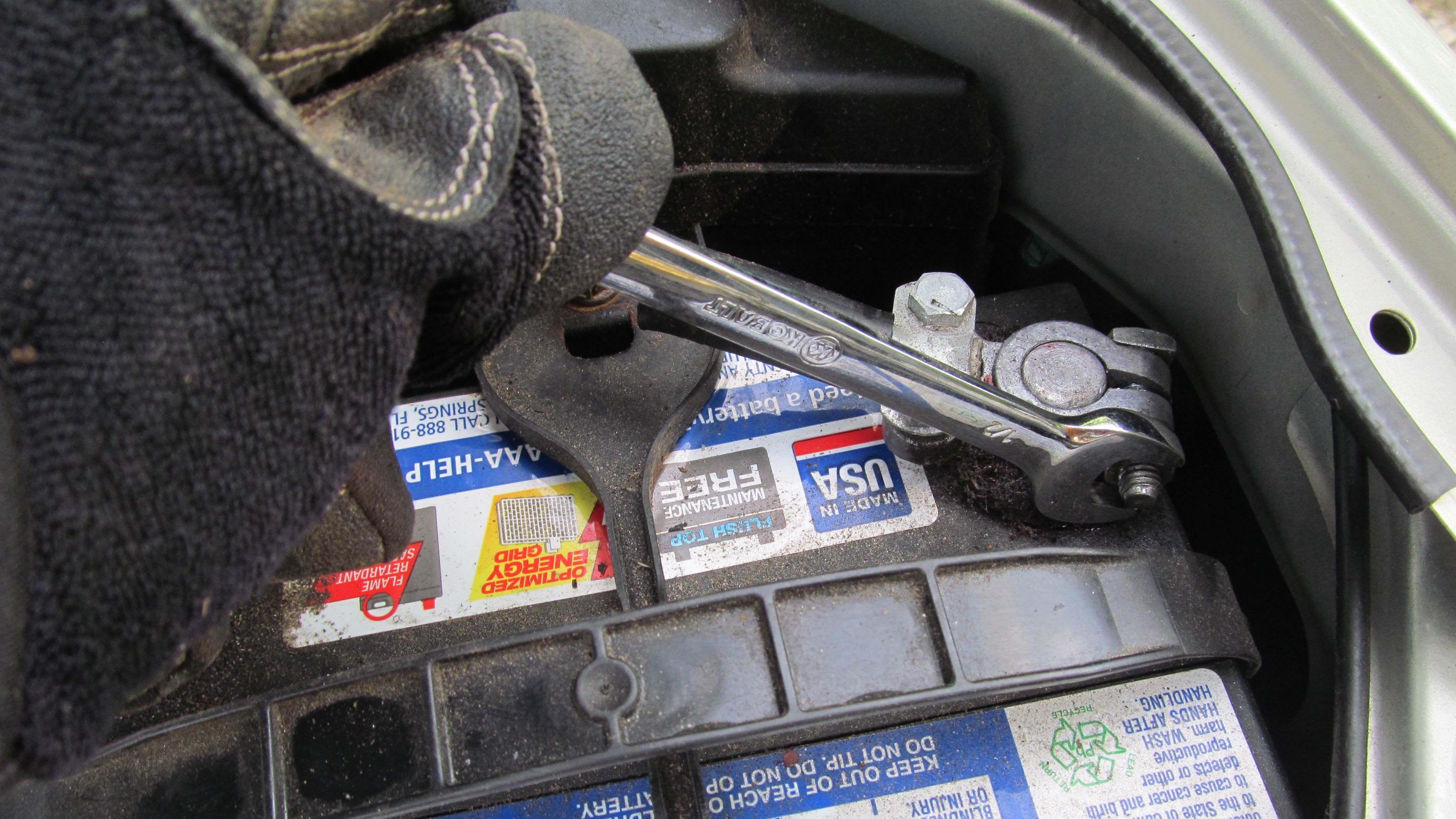 Negative Battery Terminal Car Battery Car Projects Batteries Diy