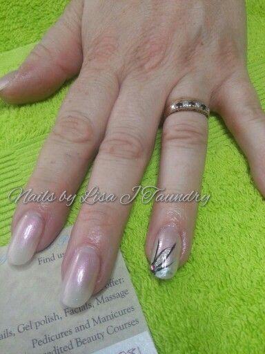 Old school nail art | acrylic nails art | School nail art, Acrylic ...