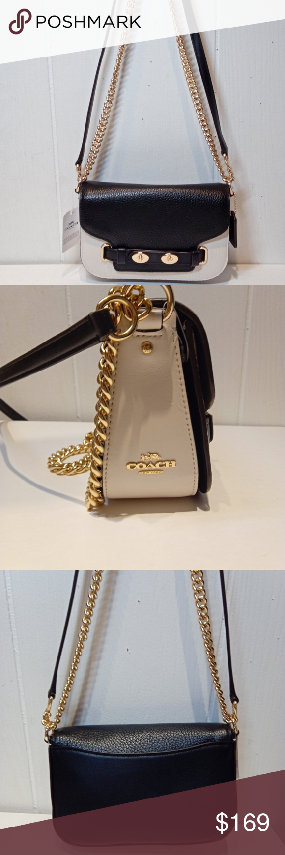 7ab6ab18223 NWT COACH Blake Crossbody 20 in Colorblock F30554 This is beautiful Brand  new with Tags in