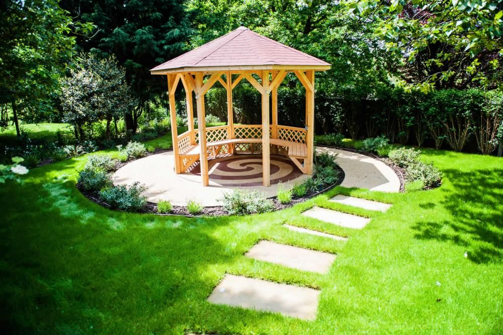 garden gazebo Gazebo Pinterest Gardens Pathways and Places