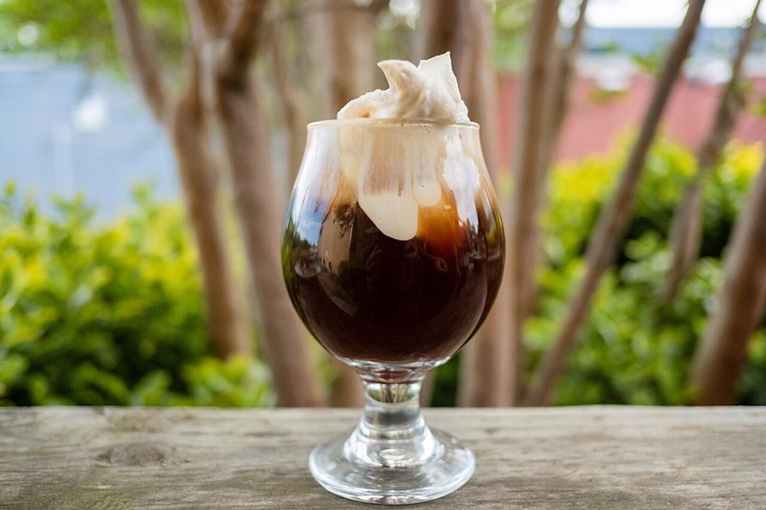 Sunday Funday is the perfect time to try our new and improved Irish Coffee! A fr... - Irish C... Sunday Funday is the perfect time to try our new and improved Irish Coffee! A fr... Sunday Funday is the perfect time to try our new and improved Irish Coffee! A fresh pourover coffee (selection from our featured roaster) and Tullamor...