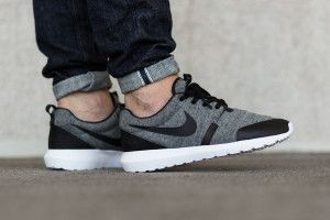100% authentic 08a89 549dd 749658 002 1 Nike Roshe One NM Cool Grey (Tech Fleece Pack) eukicks