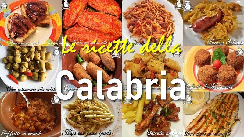 Antipasti Calabresi Di Natale.Ricette Tipiche Calabresi Gran Consiglio Della Forchetta Ricette Pasti Italiani Ricette Di Cucina