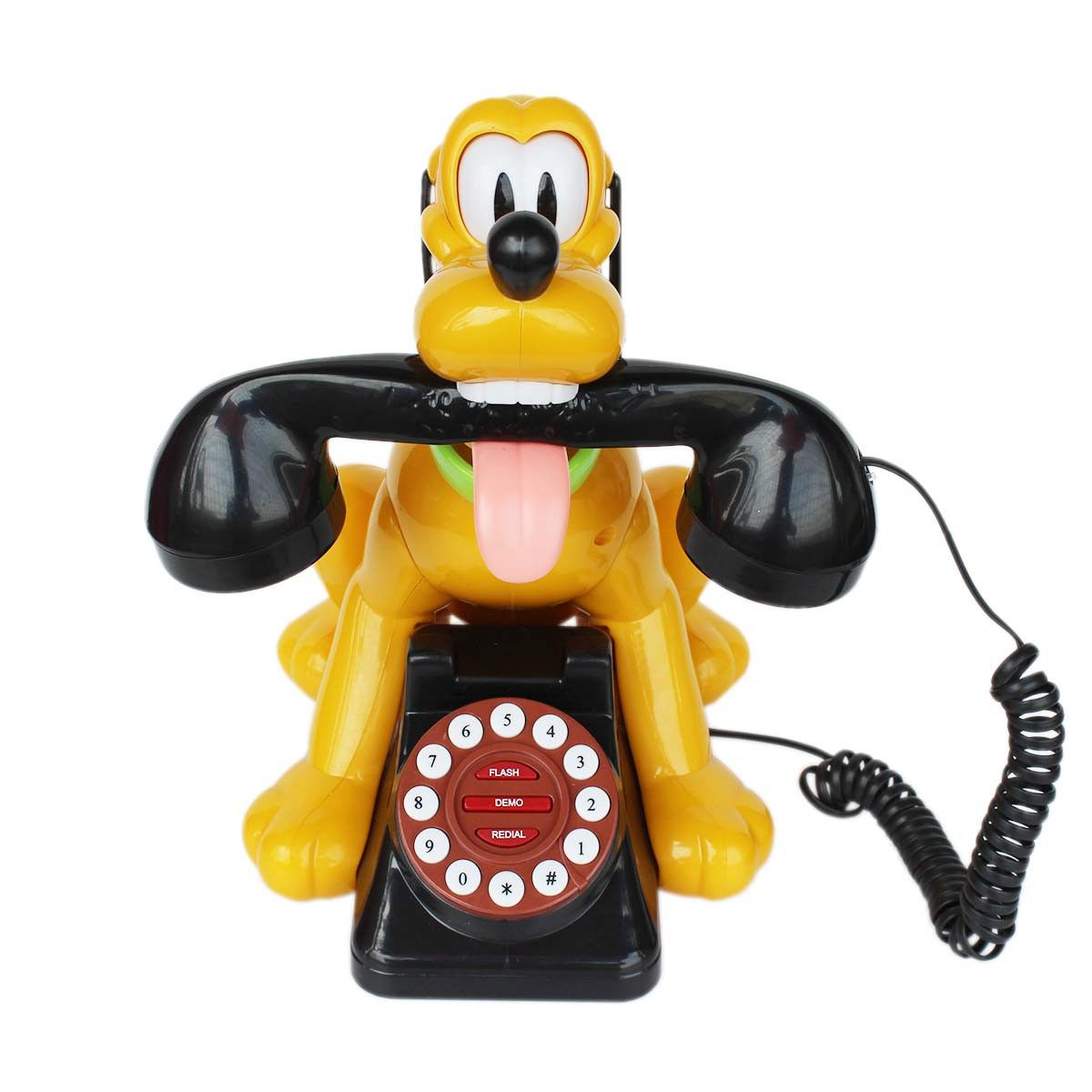 hight resolution of animal dog shaped wired telephone landline phone 1m212 yellow landlinephone cartoontelephone homedecor fancyphones telephone