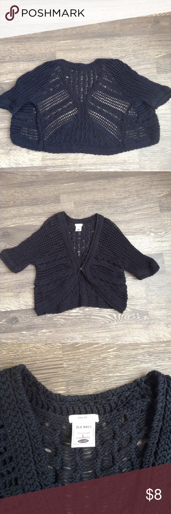 Old navy black crochet cardigan | Summer dresses, Navy and Navy ...