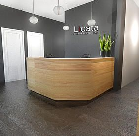 Modern chiropractic office google search recepciones for Oficinas klm mexico