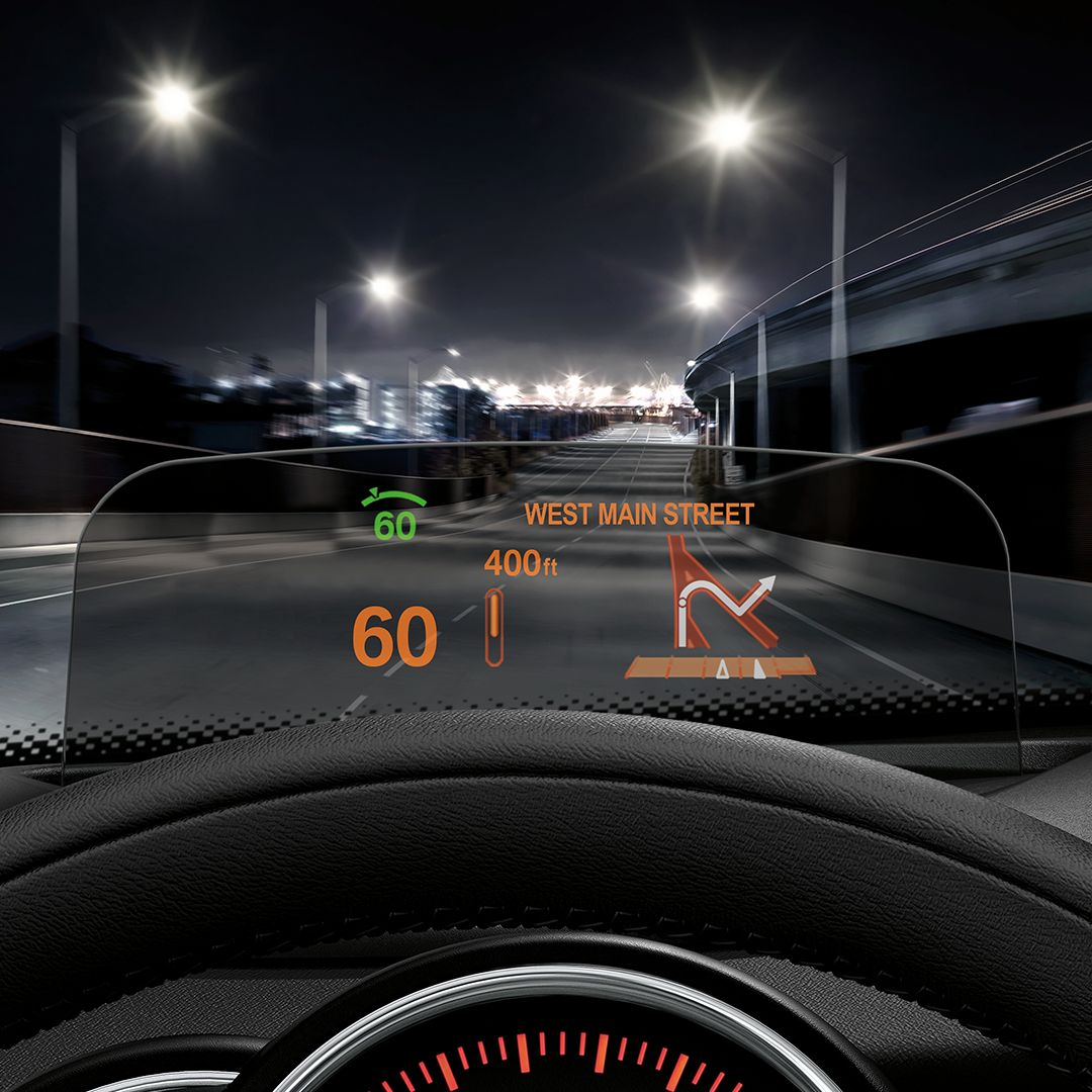 Keeping Key Info At Eye Level, The Head-up Display Option