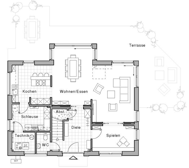 Wohnideen Hausbau edition 425 wohnidee haus das familienhaus viebrockhaus