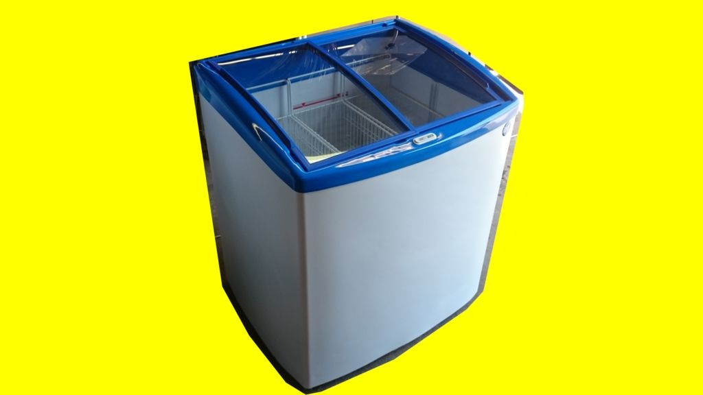 bac congélateur GLOBO 200 N Conservateur à glaces vitrine ...