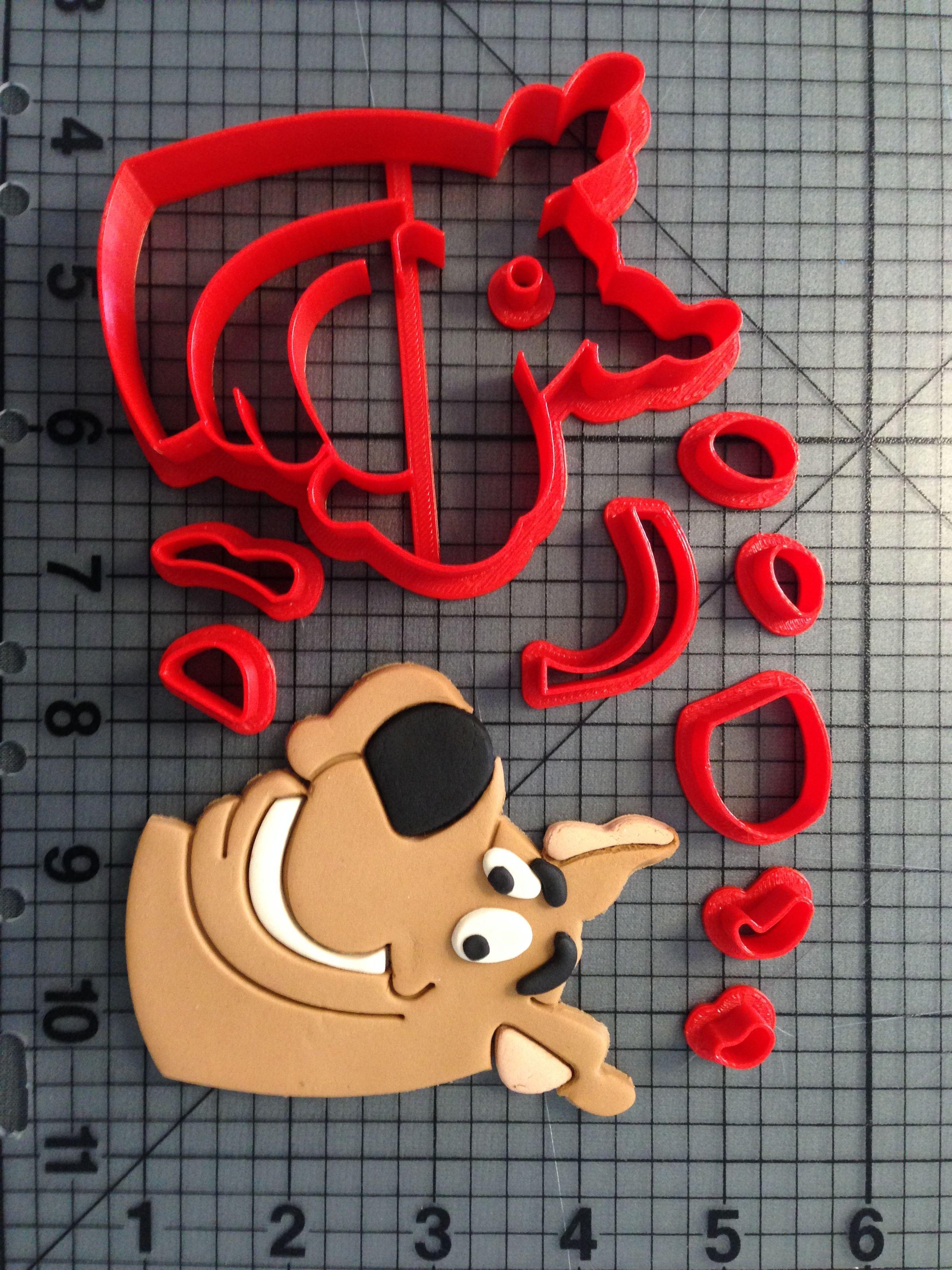 Scooby Doo – Scooby Cookie Cutter Set | Scooby doo | Pinterest ...