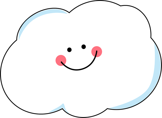 Happy Cloud Clip Art Happy Cloud Image Clip Art Clouds Printable Free Clip Art