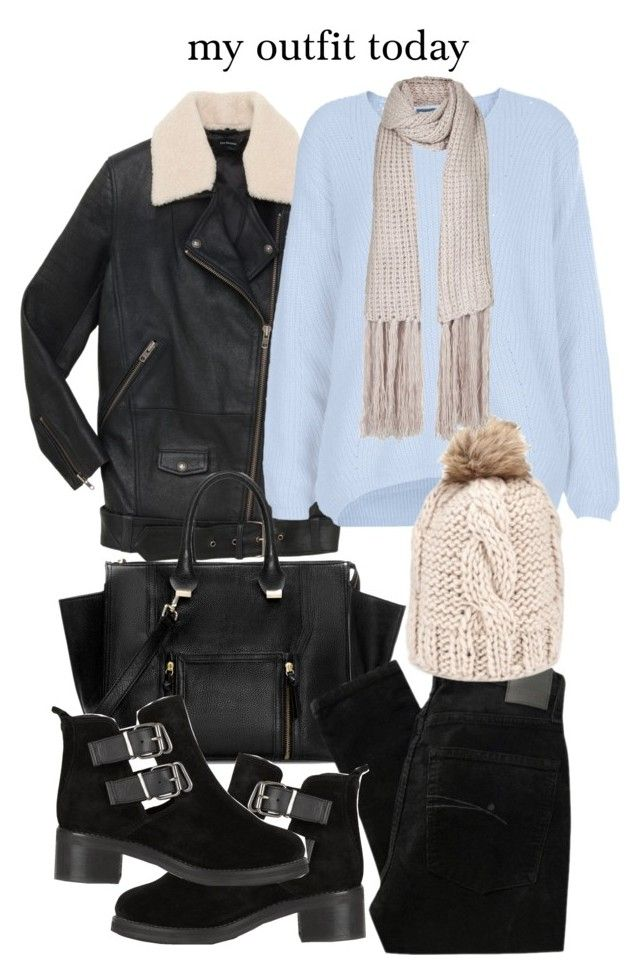"""Untitled #9863"" by florencia95 ❤ liked on Polyvore featuring Zara, Nobody Denim, Topshop and M&S Collection"