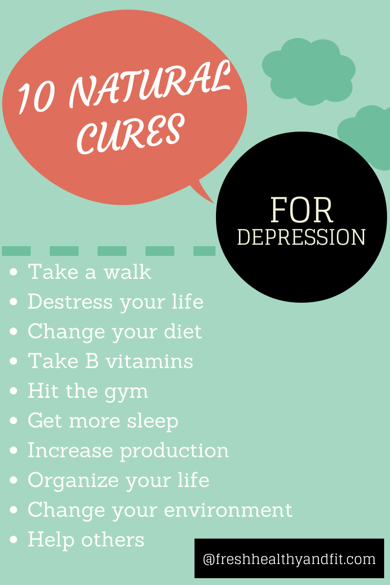 how to help depression without medication