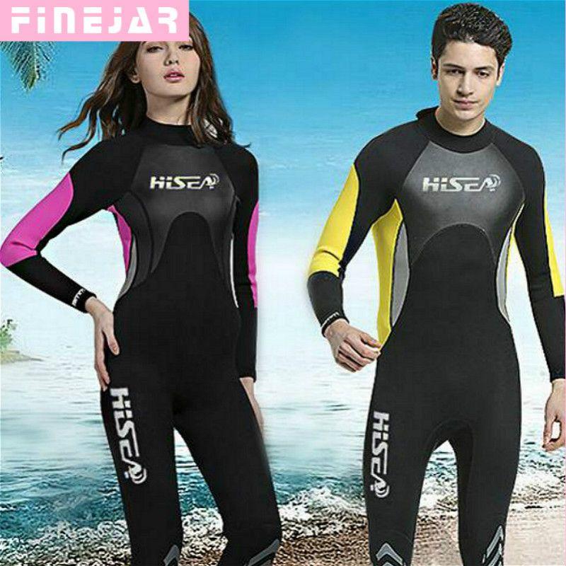 ef36e829b Water Sports Unisex Short Sleeve 2MM Neoprene Wetsuit Men for Surfing One  Piece Triathlon Scuba Diving ...