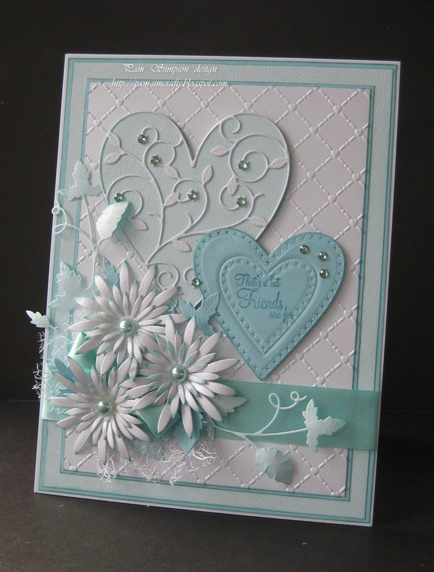 Tattered Lace Metal Die Paper Card Cut Hearts Beat As One