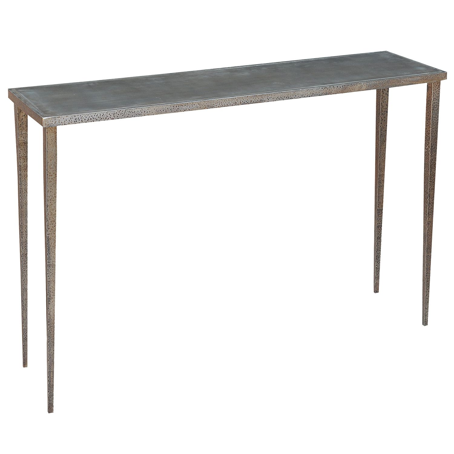 Lena Metal Console Table @Zinc_Door | f u r n i t u r e ...