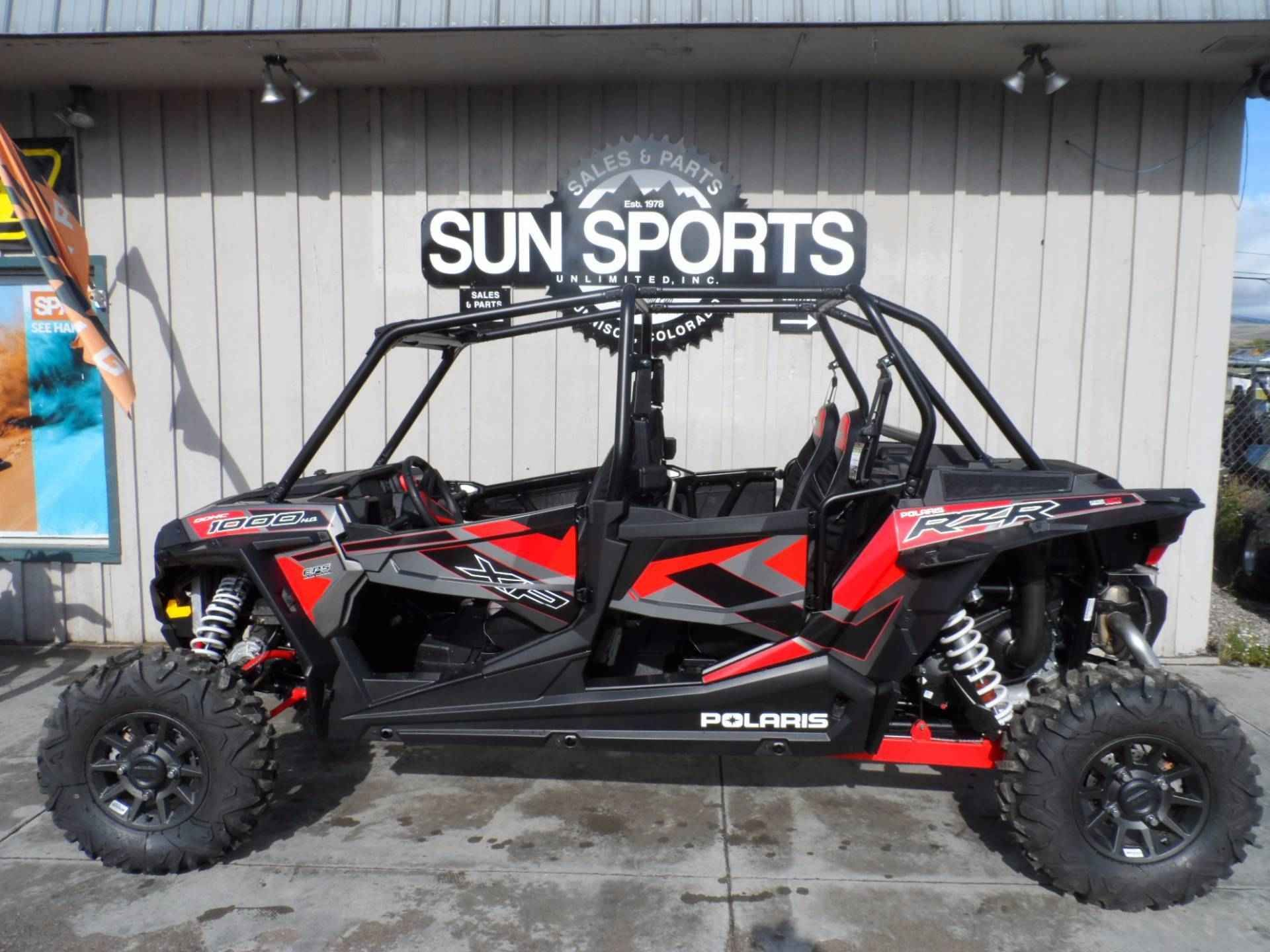 New 2017 Polaris RZR XP' 4 1000 EPS ATVs For Sale in Colorado