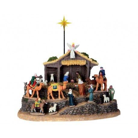 nativita in stile lemax lemax christmas village pinterest lemax village bethlehem and christmas villages