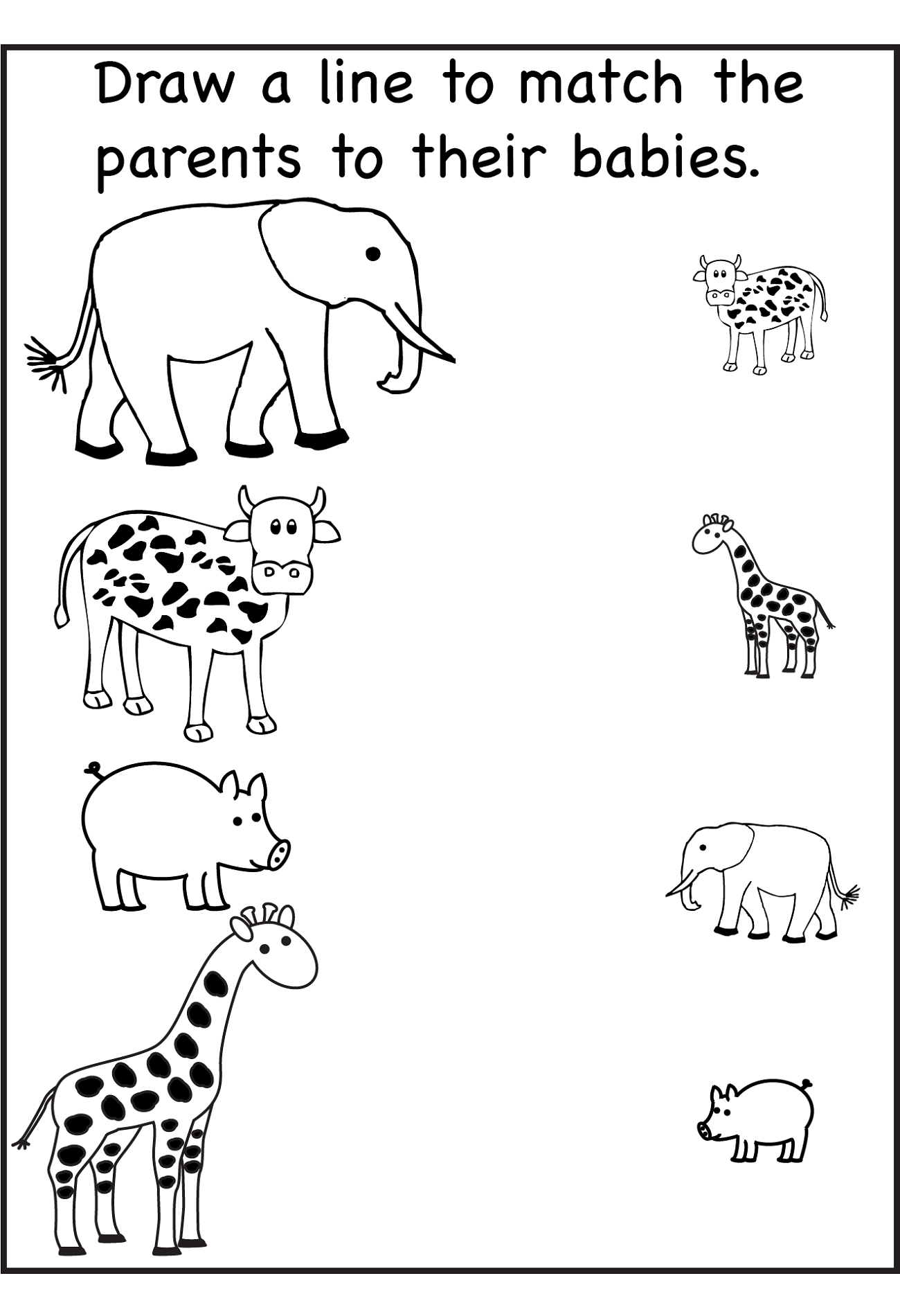 Fun And Effective Worksheet For Nursery Class