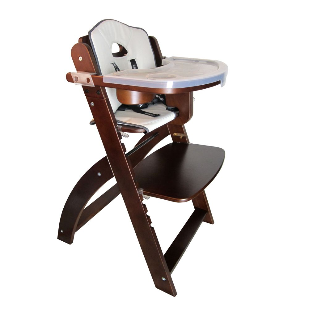 Here Is Beyond Junior Y Wooden Baby High Chair From Abiie Com In Mahogany Beautiful Isn T It Wood Wooden Baby High Chair Wooden High Chairs Baby High Chair