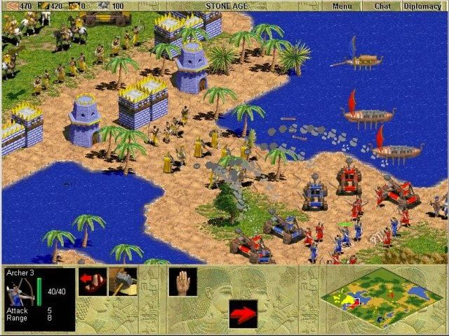 Age Of Empires 1 Free Download Pc Game Full Version Age Of Empires Age Of Empire Game Real Time Strategy Game