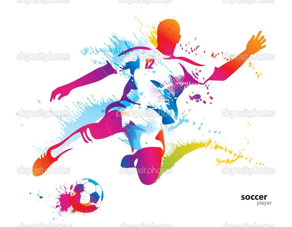 Resultado De Imagen Para Soccer Ball Sketch Watercolor