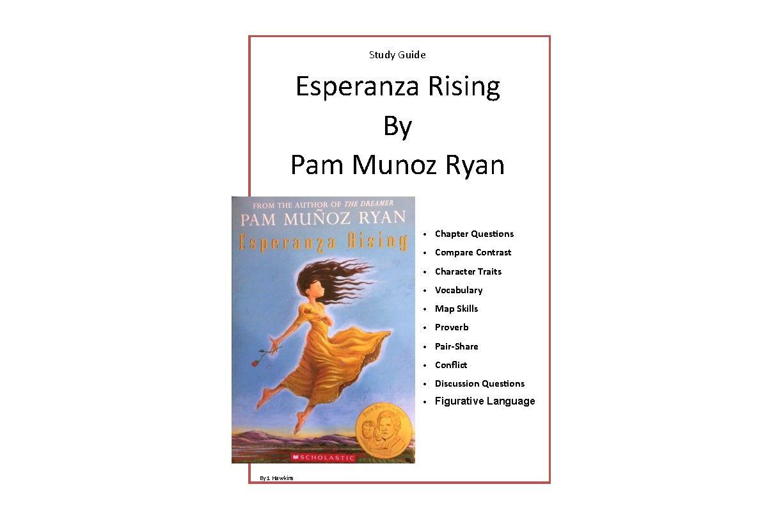 Esperanza Rising Novel Unit Study Guide And Activities