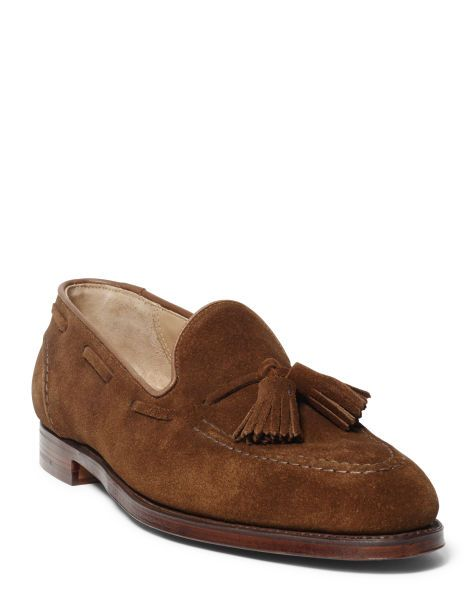 b3c263a95 Marlow Suede Tassel Loafer - Ralph Lauren Dress - RalphLauren.com ...