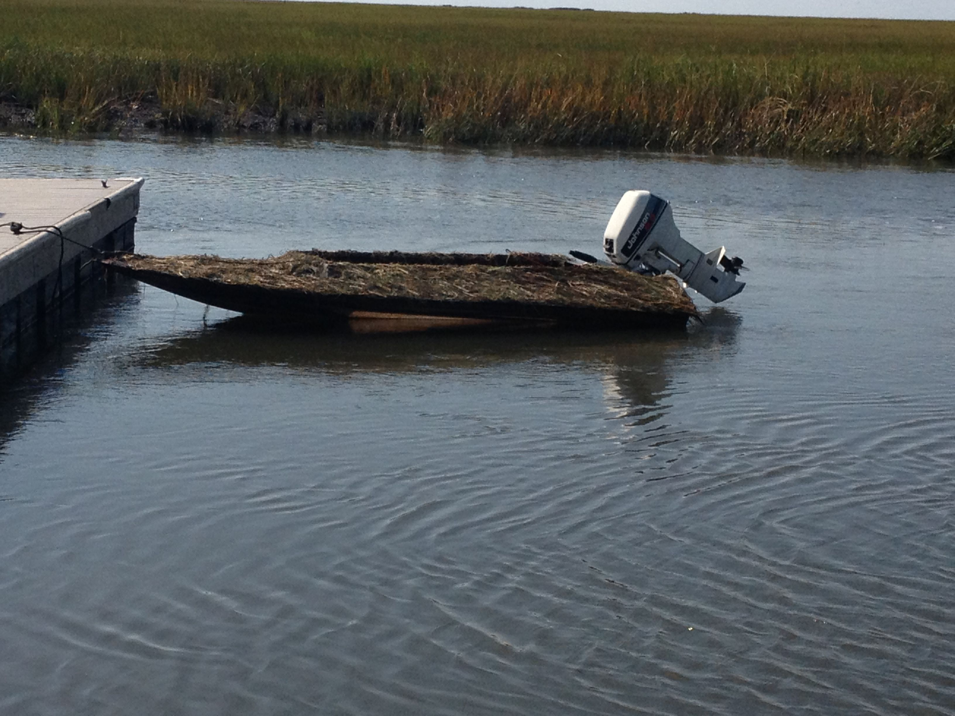 Duck Hunting Blinds Boats