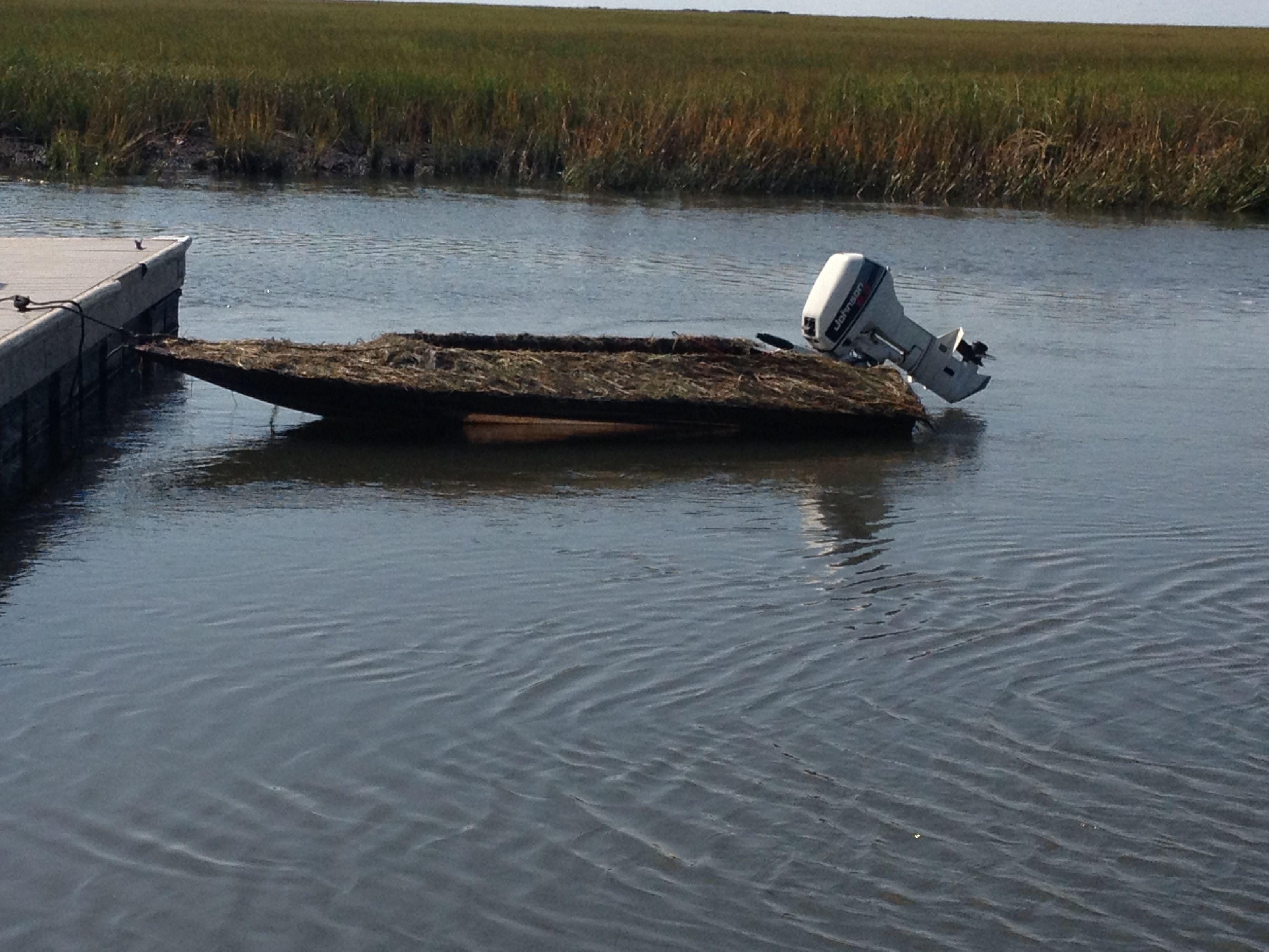 My 11 Roy Schellinger Duck Boat Waterfowl Hunting