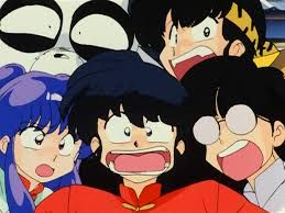 Ranma Genma Mousse Ryoga And Shampoo