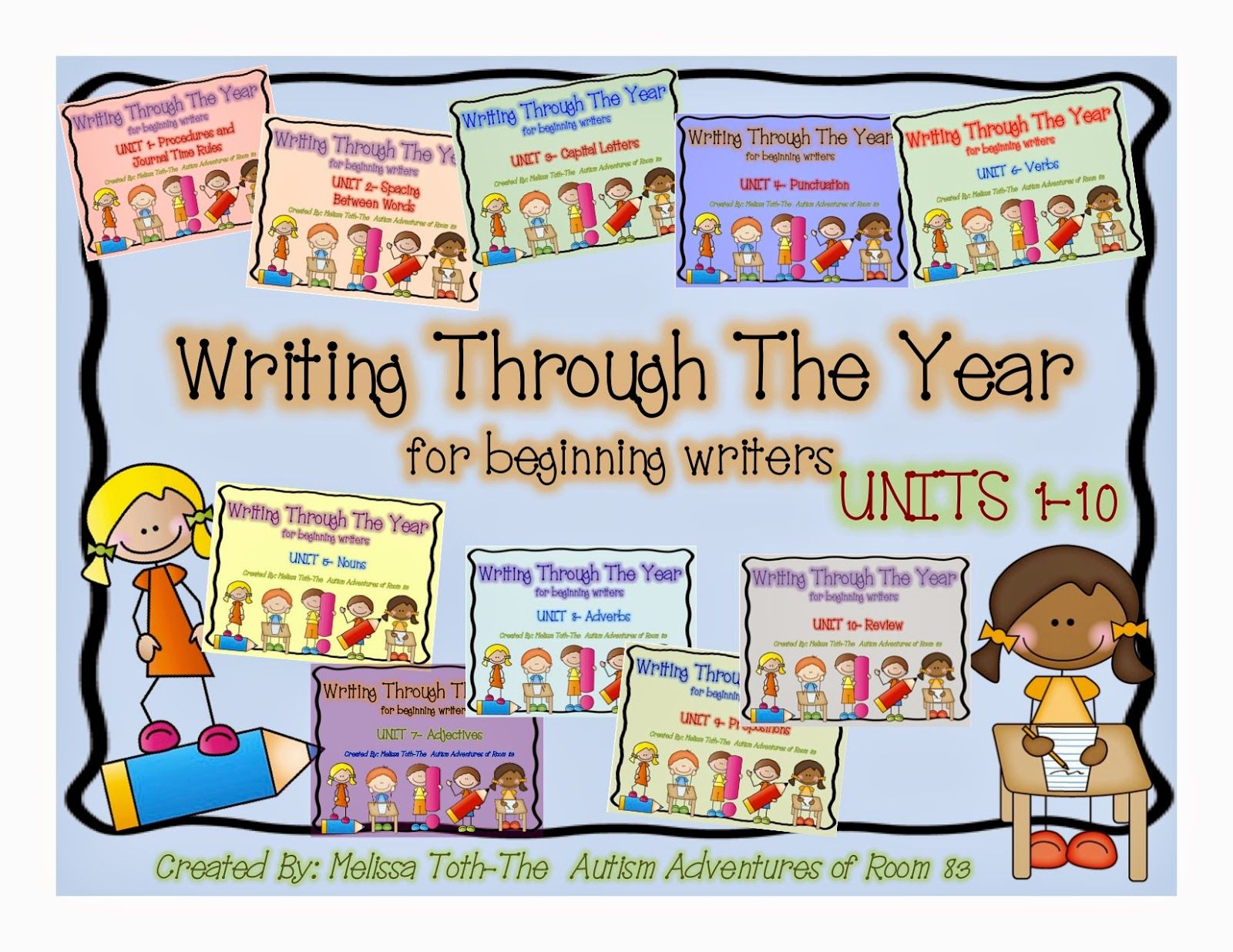 Writing Anchor Charts For Special Needs