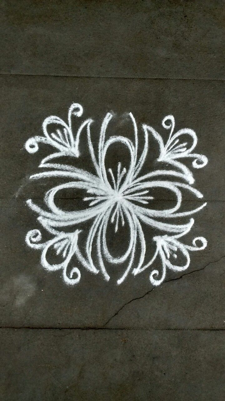 Pin by VENNILA VENKATACHALAPATHY on Kolam Rangoli