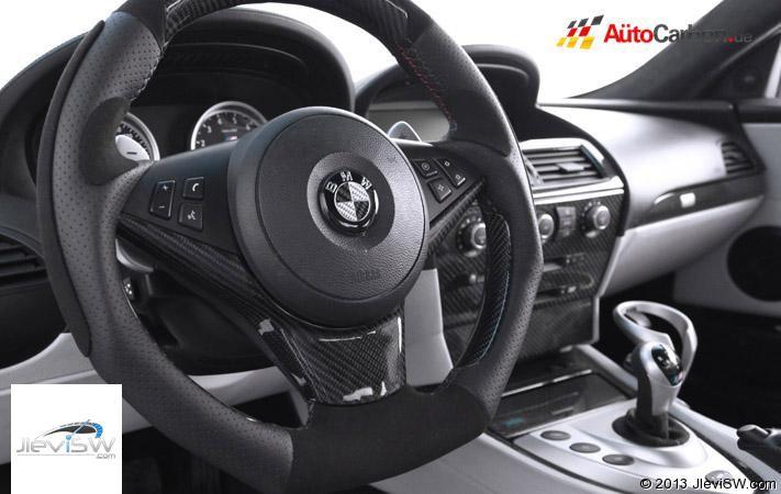 Top Quality Bmw 5 Series Autocarbon Carbon Fiber Steering Wheel Trim