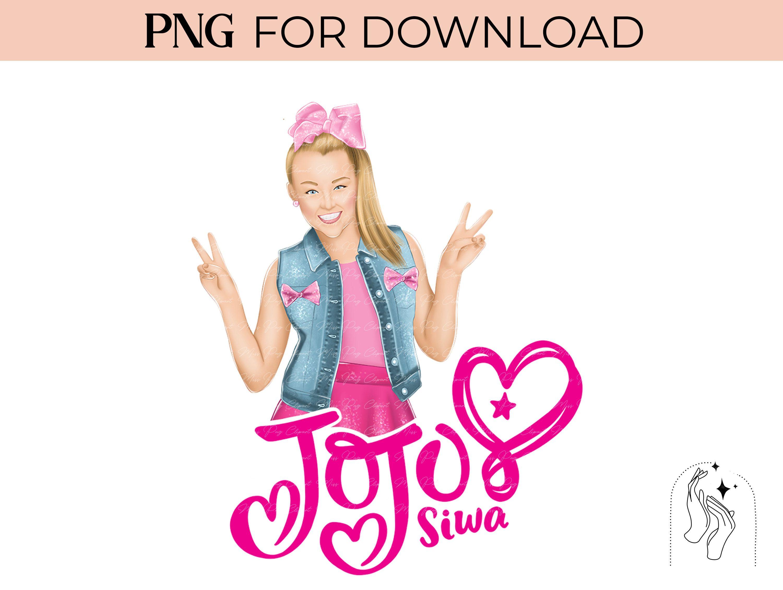 Jojo Siwa Png Sublimation Designs Print On Demand For Jojo Etsy Jojo Siwa Birthday Jojo Siwa Graphic Tess