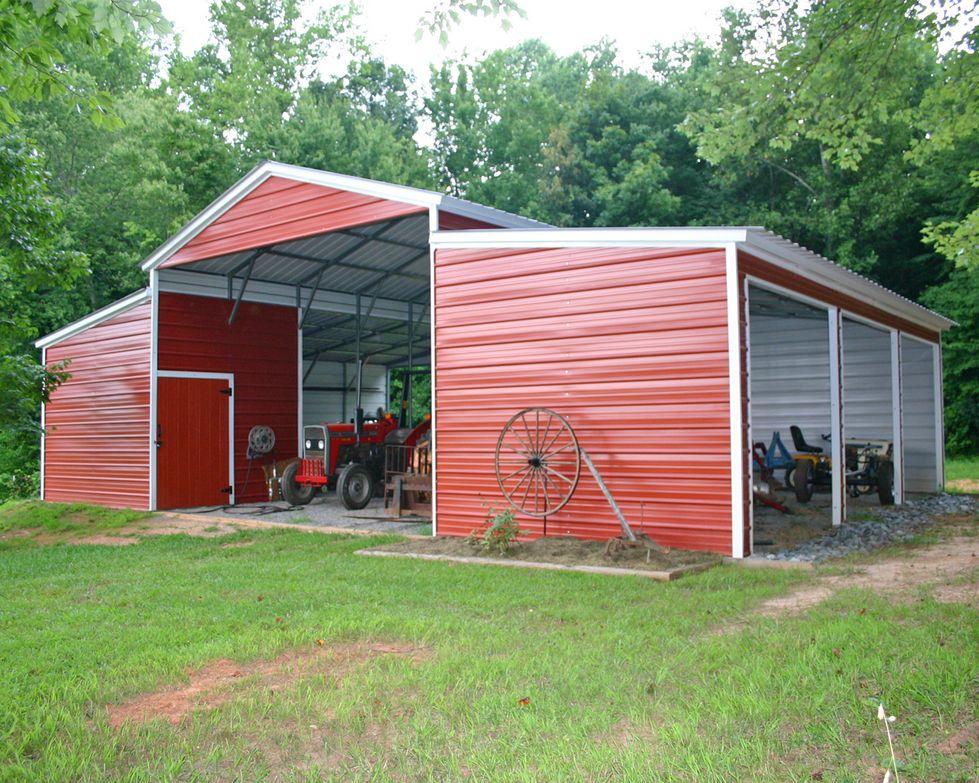 Metal Carport Barn Garage I have to admit, I love the look