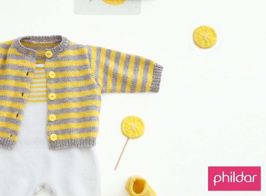 Opera Baby Cardigan - Free Knitting Pattern #crochetbabycardigan