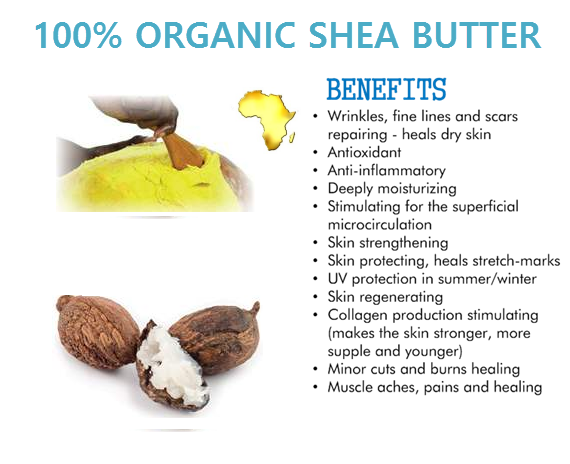 Benefits of Organic Shea Butter: It helps in managing oily skin. People  need not