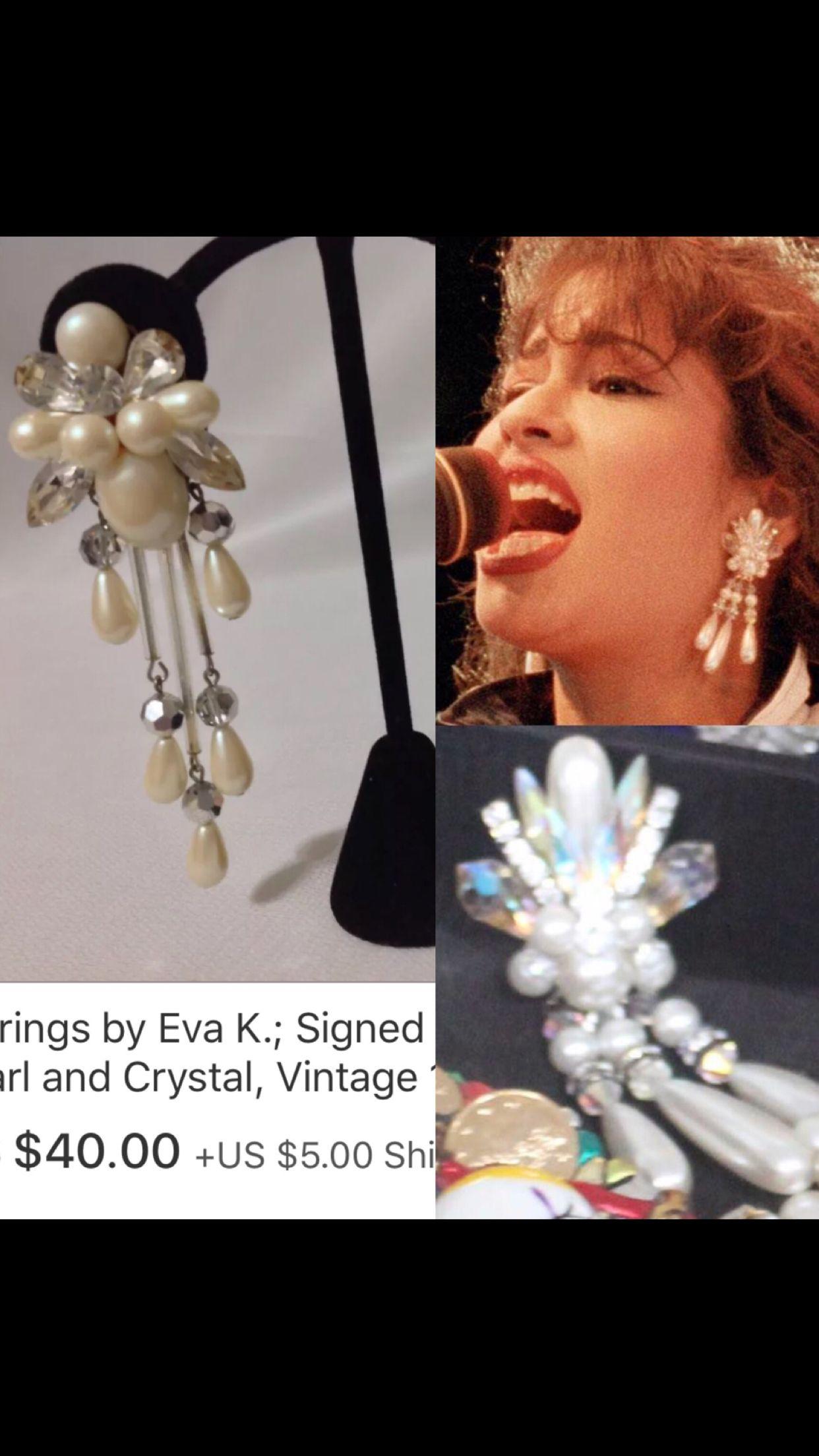 bd295a4f8ba Selena costume jewelry earrings