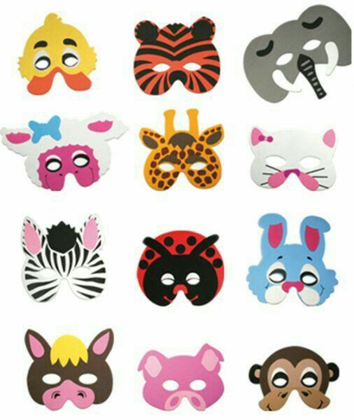 Antifaces animales curiosidades samuel - Mascaras para carnaval manualidades ...