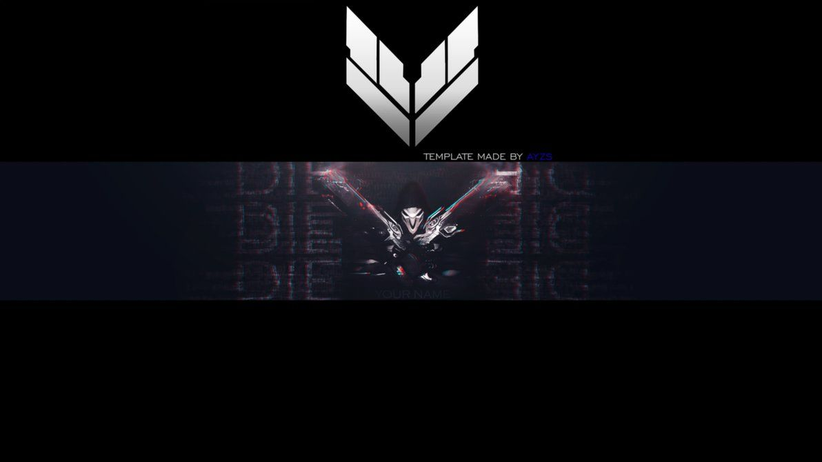 Reaper - Overwatch [Free Banner Template] by Ayzs.deviantart.com on ...