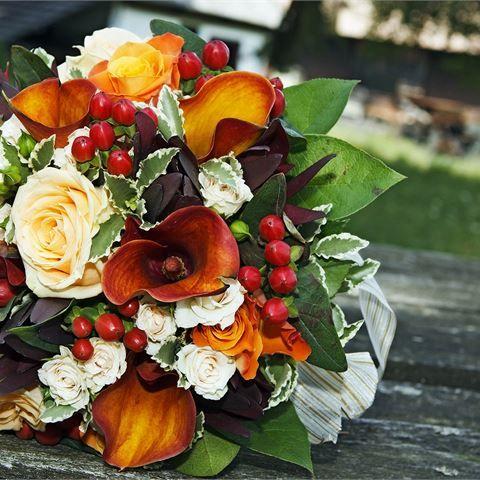 Rustic Autumnal Flowers