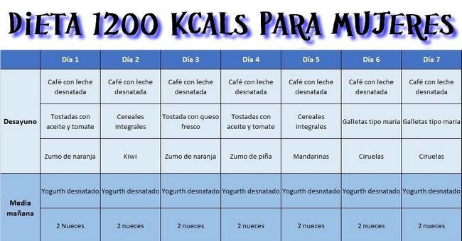 Cuanto se adelgaza con una dieta de 1200 calorias alta en proteinas