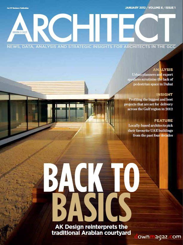 from the title of the magazine it is very clear what it is about the - Architectural Designs Magazine