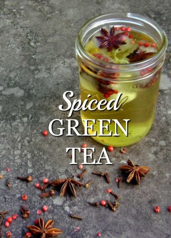 Photo of Spiced Green Tea – Natural Green Mom