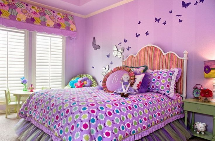 Http Rilane Com Kids Bedroom 15 Charming Butterfly Themed Girls Bedroom Ideas Wall Decor Bedroom Girls Bedroom Colors Kids Bedroom Inspiration