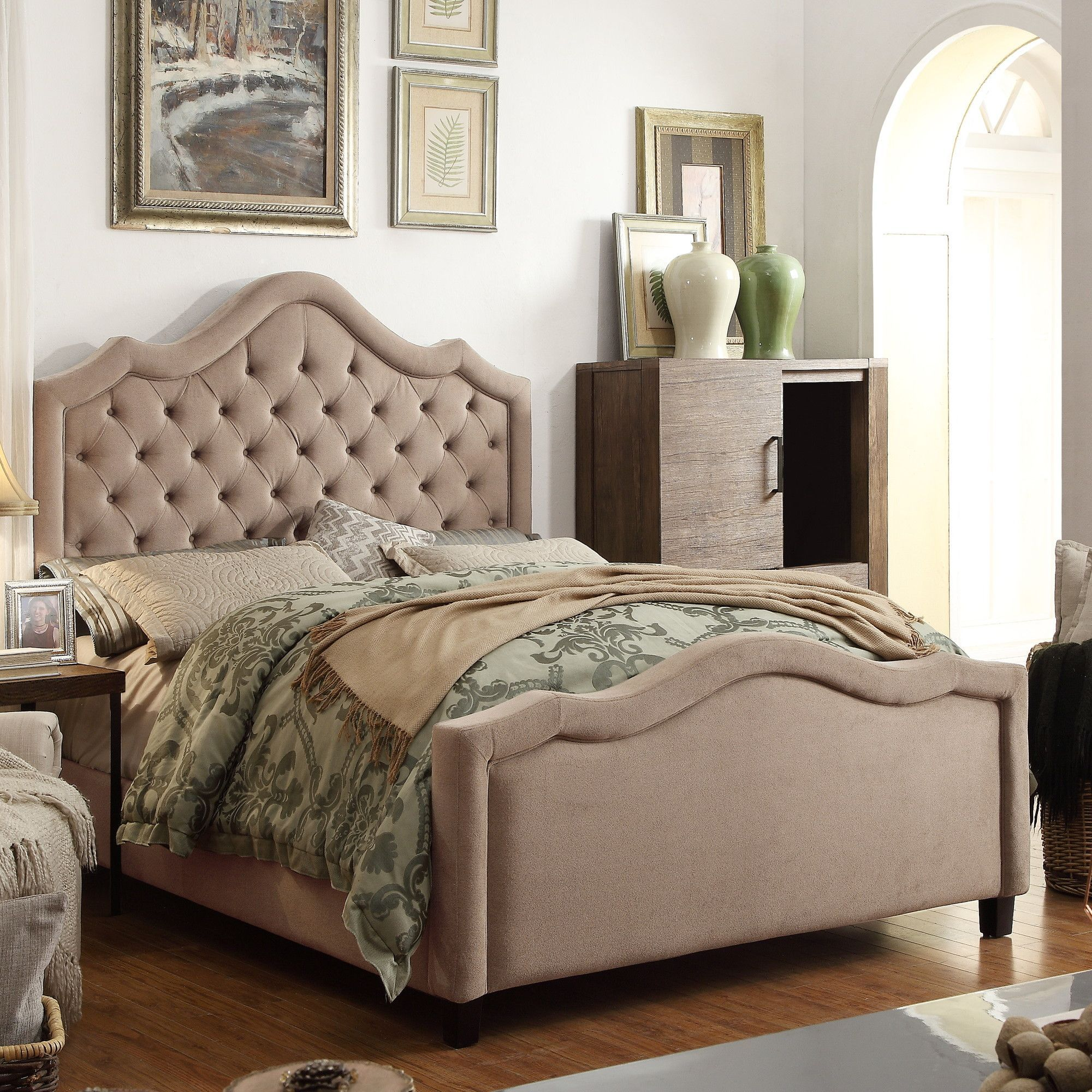 alisa upholstery panel bed products pinterest upholstery beds
